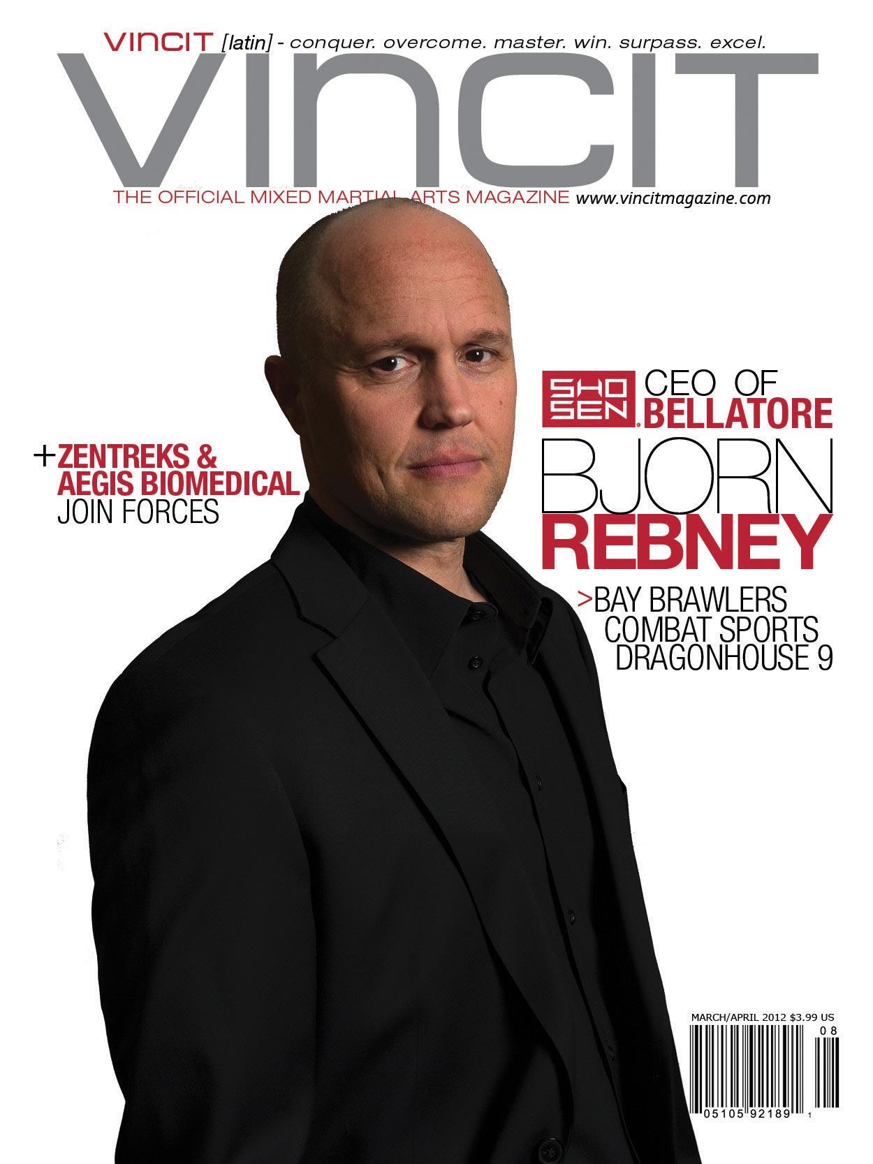 January/February Bjorn Rebney